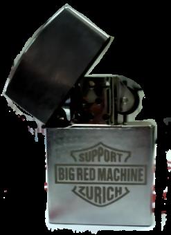 Feuerzeug Support Big Red Machine Zurich