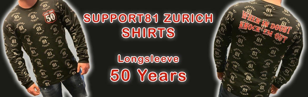 Longsleeve 50 Years SUPPORT81 ZURICH